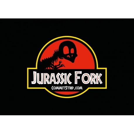 """Poster """"Jurassic Fork"""""""