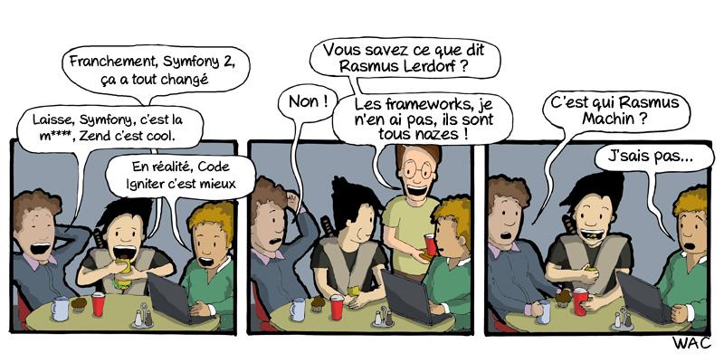 WAC WeAreCoders Rasmus Lerdorf Framework
