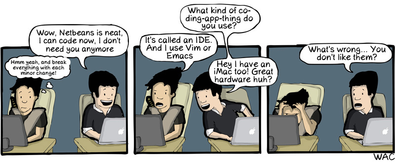 You can't judge a coder by its commit!