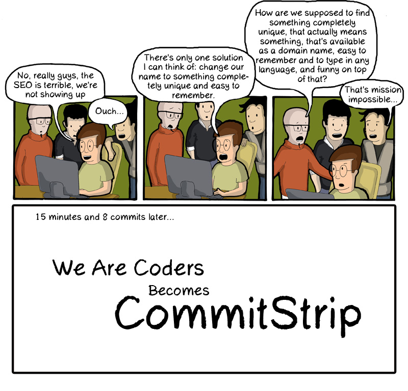 CommitStrip Change Name