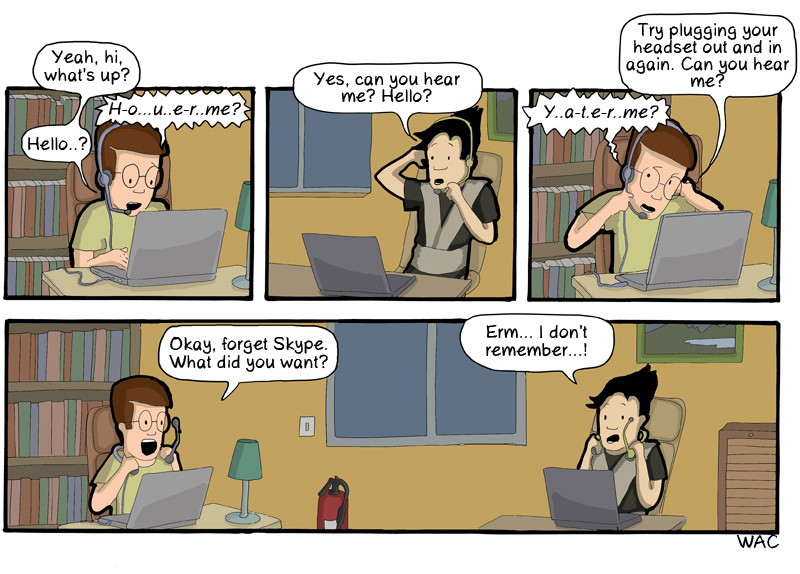 Skype Open Space Paradox