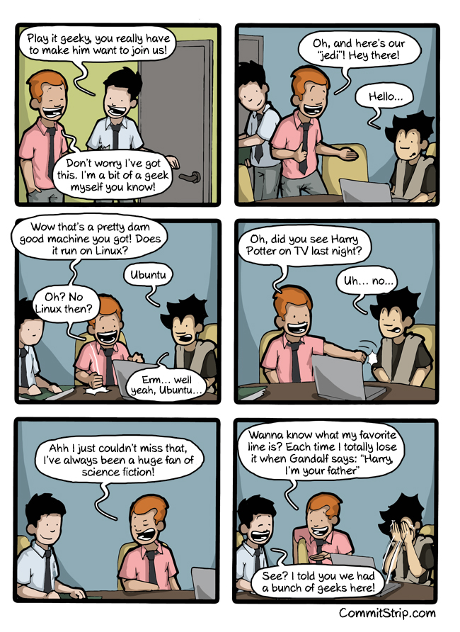 being cool you re doing it wrong commitstrip