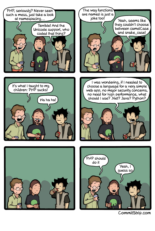 The right tool for the right job | CommitStrip