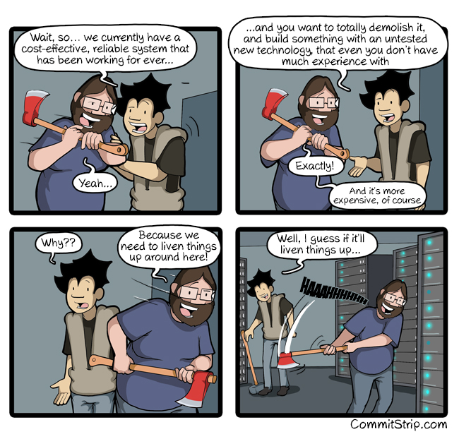 CommitStrip: Why