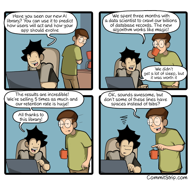 First things first   CommitStrip