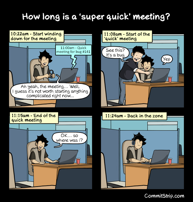 Not Now Silly Watergate The End Of The End: How Long Is A 'super Quick' Meeting?
