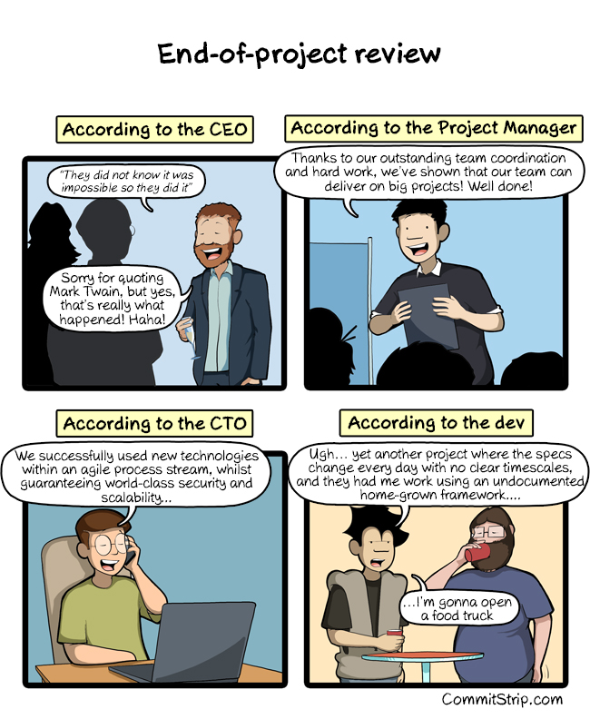 CommitStrip - The coders' life blog