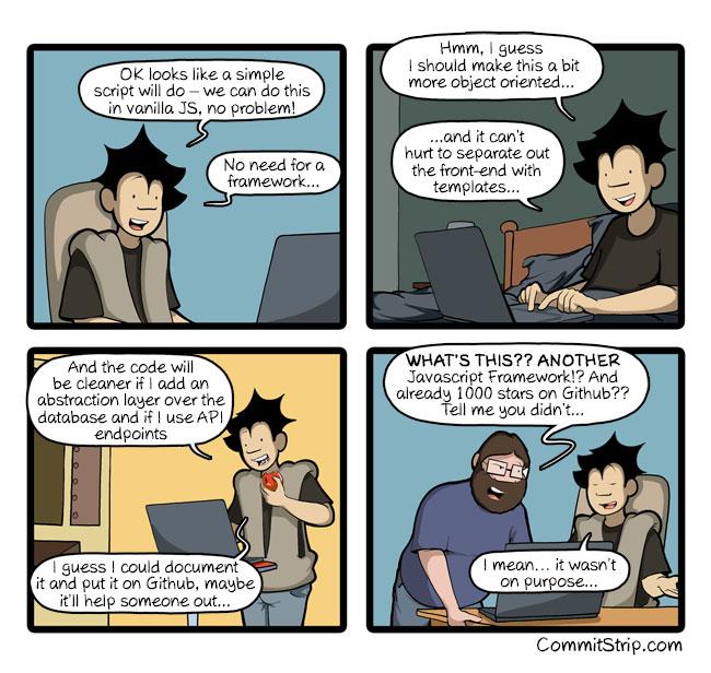 Unintentional framework