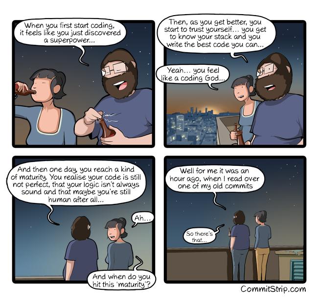 Coding maturity