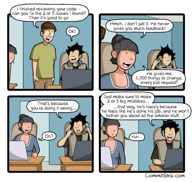 The secret of a successful code review